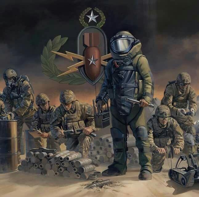 Pin by Rattiya Clark on EOD | Military drawings, Navy eod