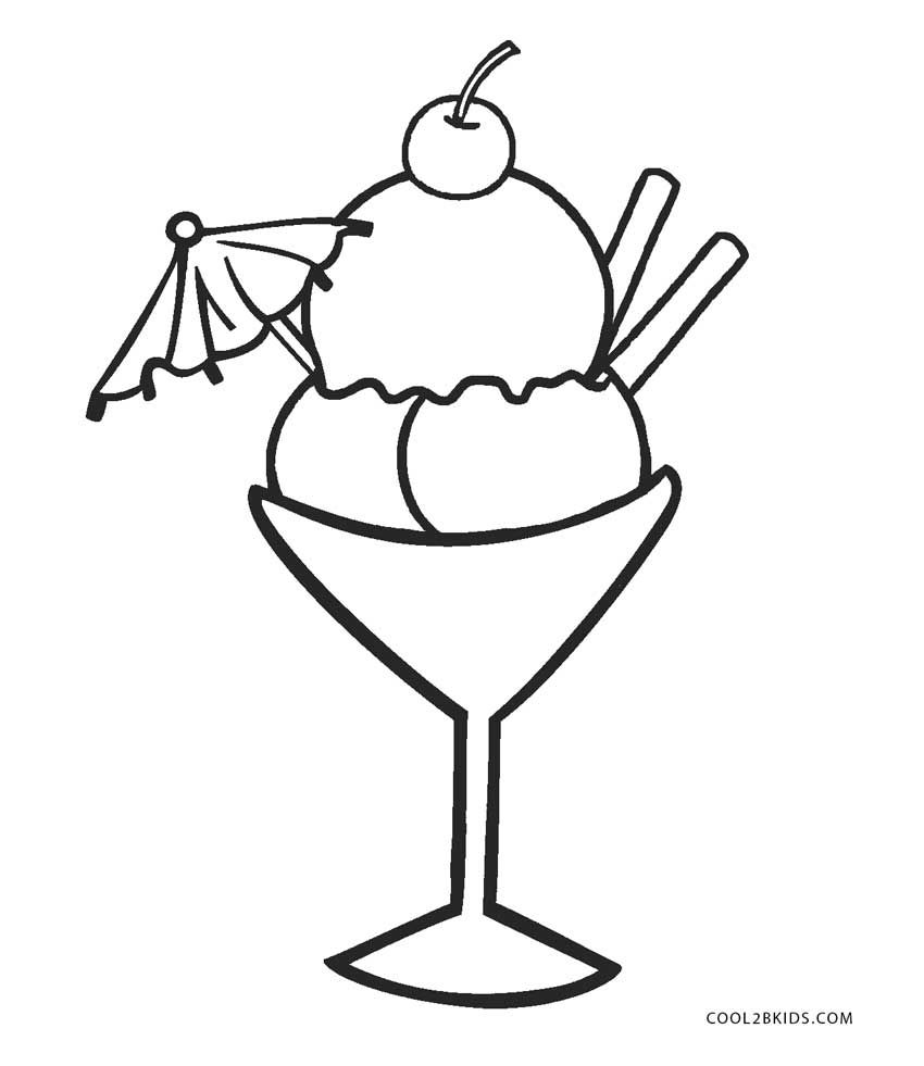 Coloring Pages Of Ice Cream Jpg 850 981 Ice Cream Coloring