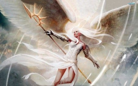 Wallpapers For Gt Magic The Gathering Wallpaper Angel Mtg Angel