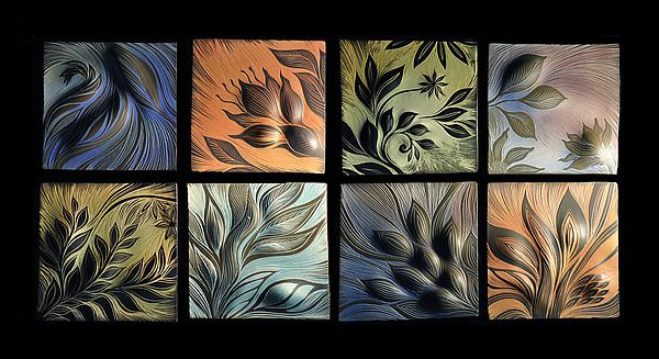 Review Botanical IV by Natalie Blake Ceramic Wall Sculpture available at Amazing - Style Of ceramic wall Amazing