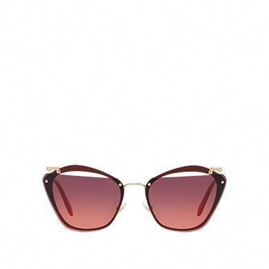 24c5be23e2a Miu Miu Noir eyewear with cut-out lenses  MiuMiu