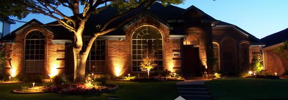 Exterior Landscape Lighting Plano Texas
