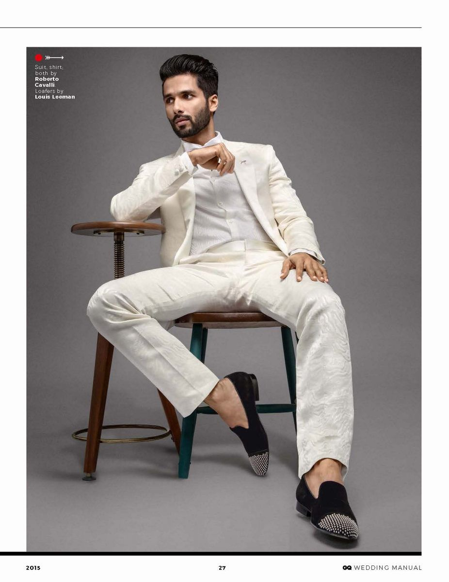 Shahid Kapoor para GQ Style India 2015 | Male Fashion Trends