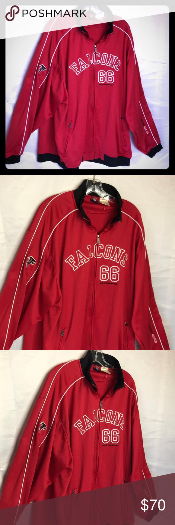 Reebok Classic NFL Falcons Jacket Sz 2XL Mens | Reebok