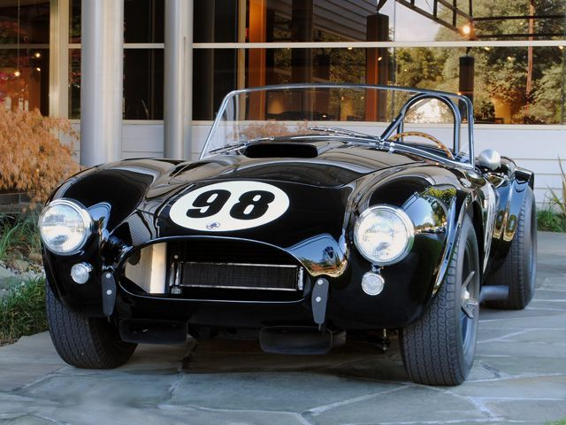 "1963 Shelby 289 ""Le Mans"" Cobra Team Shelby American"