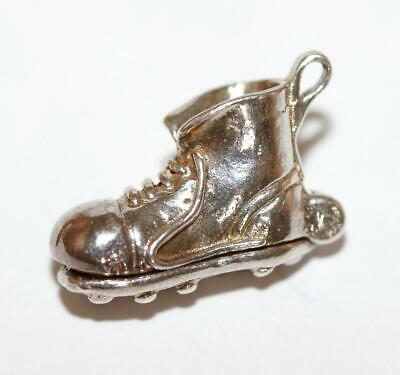 VINTAGE SILVER FOOTBALL BOOT CHARM