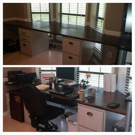 Base Units From This Diy Desk Are From File Base Classic Wall