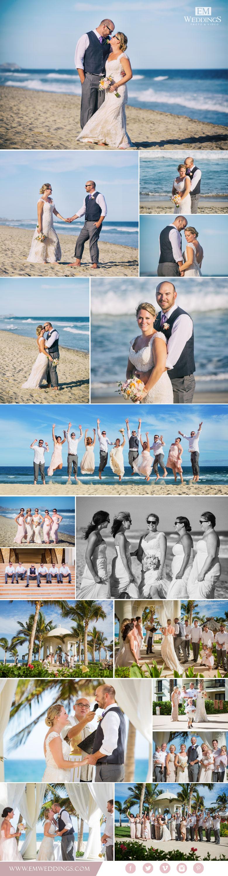 Wedding at Hyatt Ziva, Los Cabos, México Los Cabos