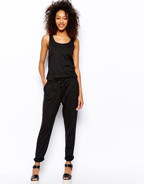 Black · Image 1 of Vero Moda Jersey Jumpsuit