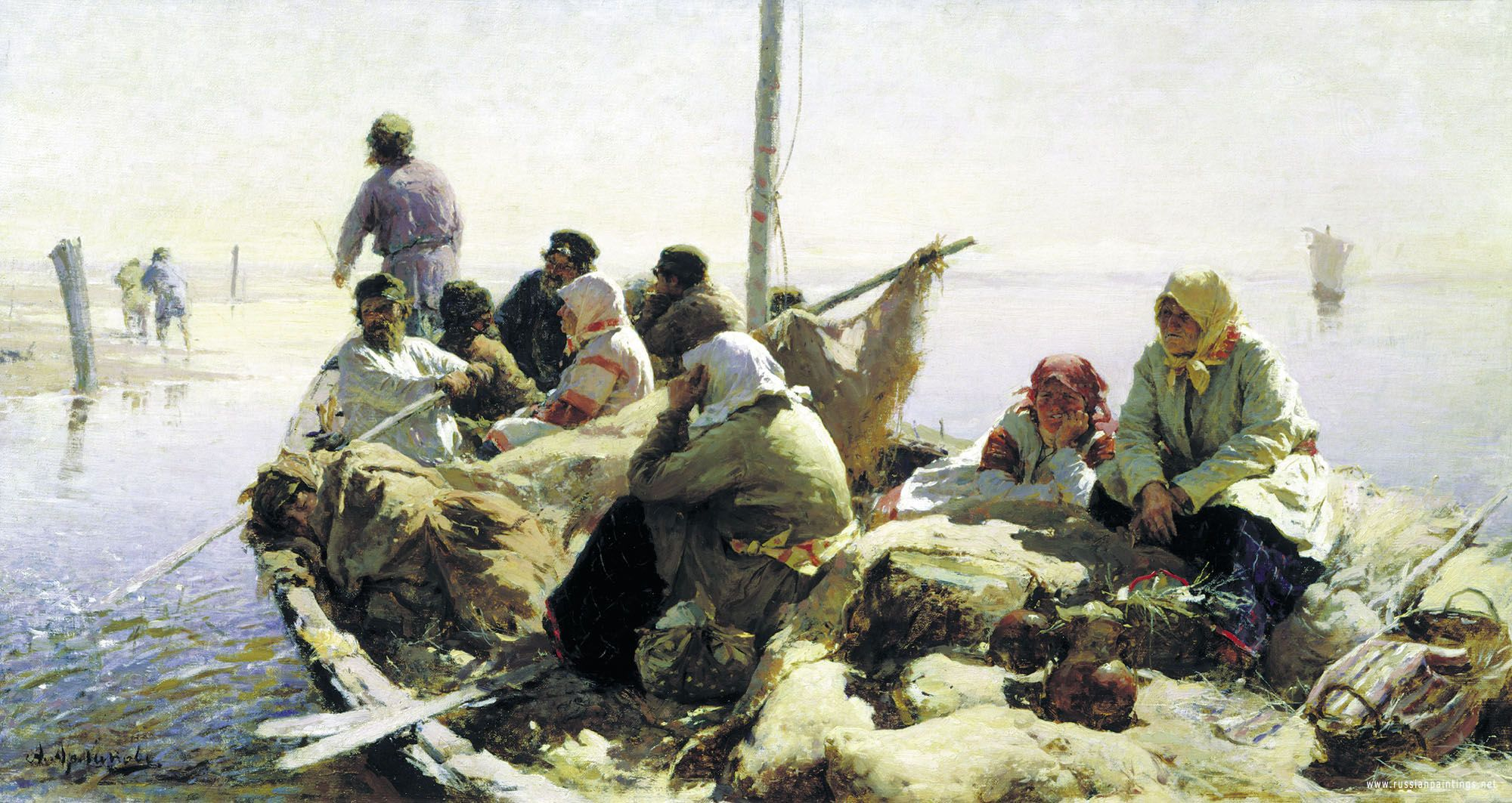 Russian Art Work Image Paintings Of Russian Painters For