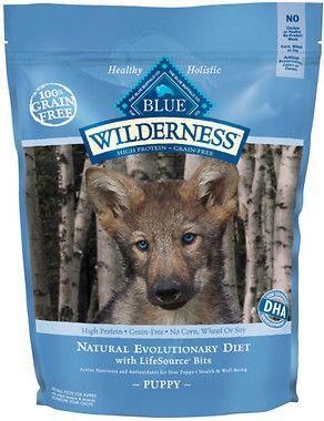 Blue Buffalo Wilderness Puppy Chicken Recipe Grain Free Dry Dog