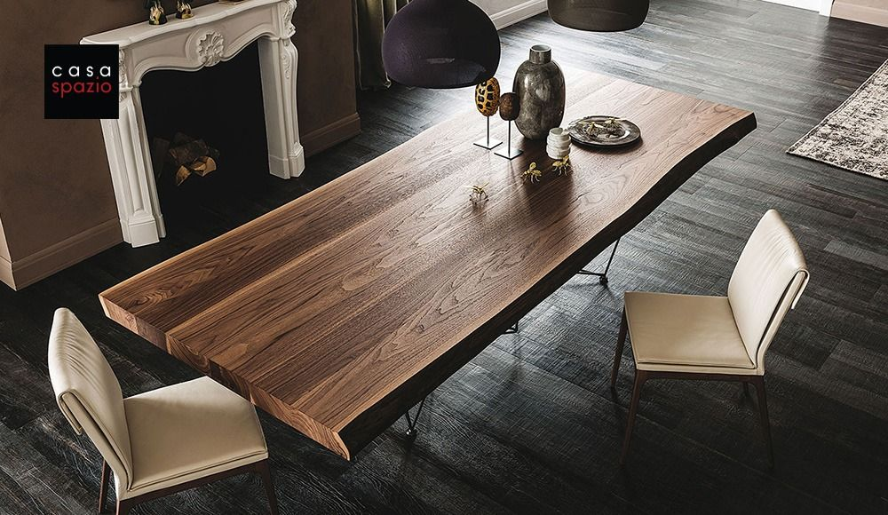 Cattelan Gordon Wood Dining Table Dining Room Design Modern