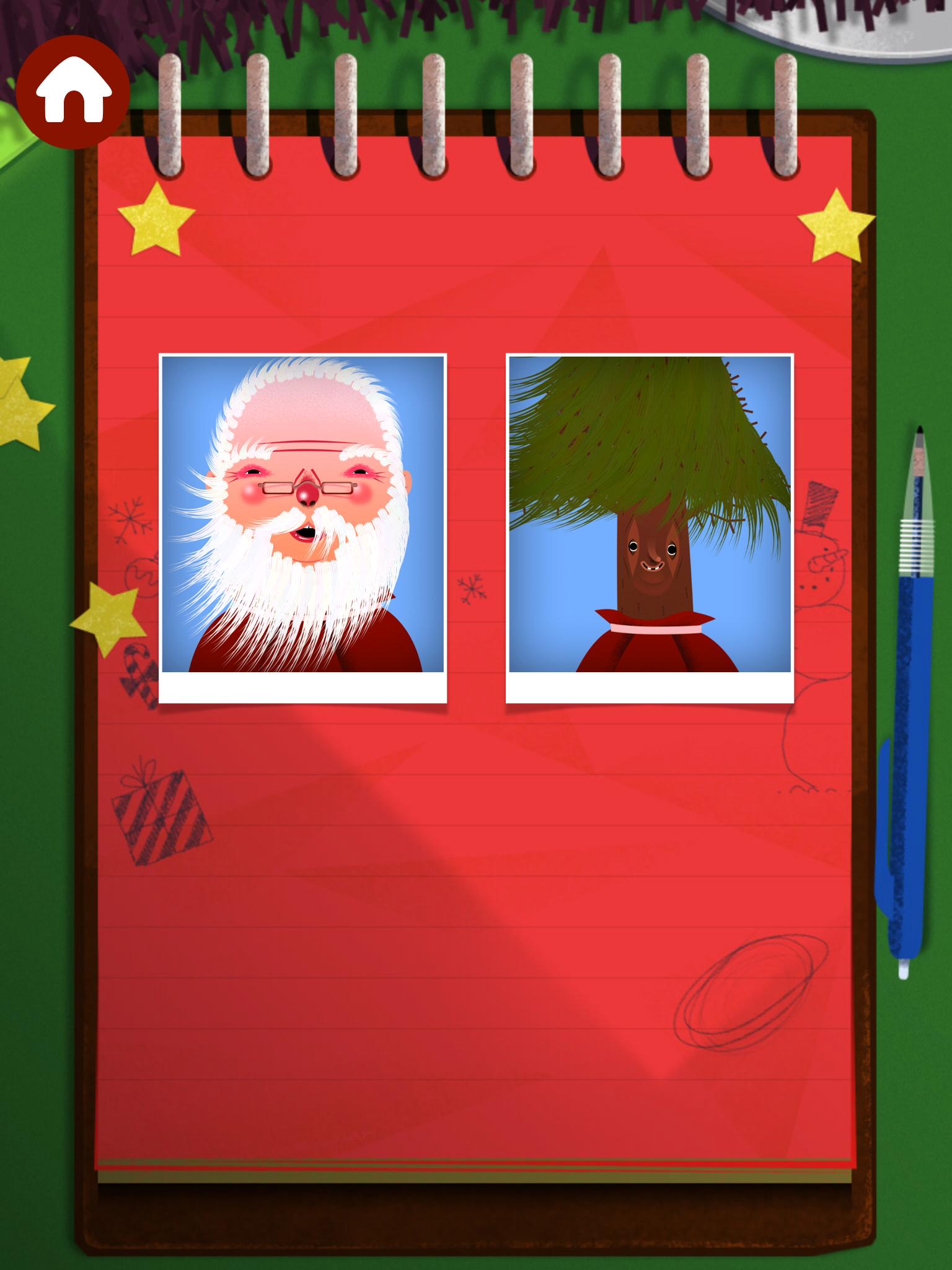 Toca Boca Christmas hair salon app is fun and motivating