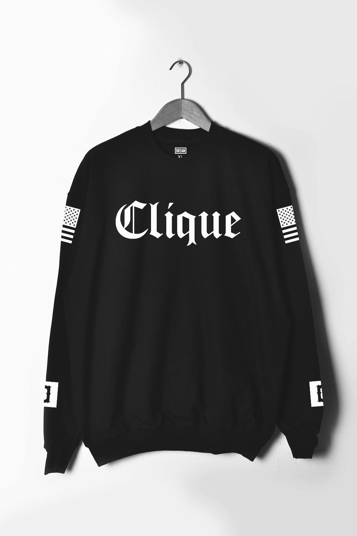 Dope. Clique. Sweater.