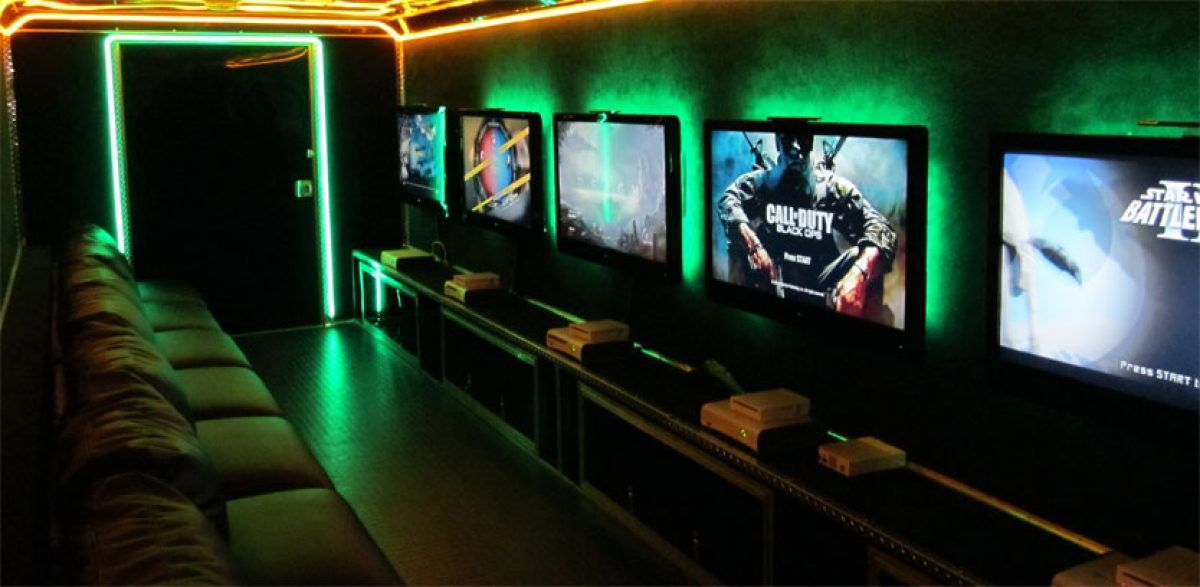 32++ Video game bus for rent information