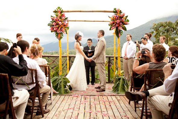 Costa Rica Weddings Wedding In Destination At Mountain