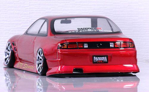 Pandora Rc Nissan Silvia S14 Bn Sports 1 10 Rc Drift 198mm Clear