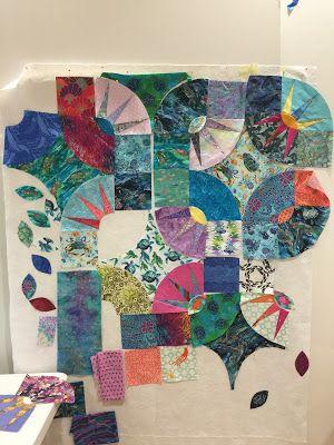 Bright Lights Big City Class Paper Piecing Quilts Quilts Tumbler Quilt