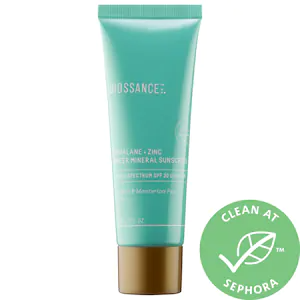 Squalane Zinc Sheer Mineral Sunscreen Spf 30 Pa Biossance Sephora In 2020 Mineral Sunscreen Spf Sunscreen Squalane
