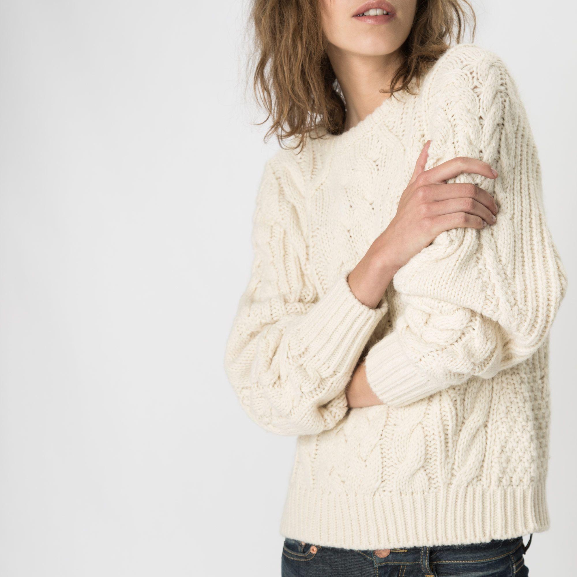 Maje Pull Spring Summer 2020 pour femme en laine