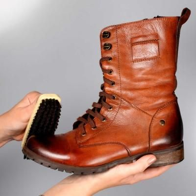 How To Polish Leather Boots At Home Plus Other Tips For Cleaning And Caring Your Suede