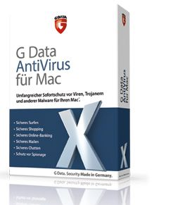 G Data AntiVirus für Mac Umfangreicher Sofortschutz vor Viren, Trojanern und anderer Malware für Ihren Mac. http://www.gdata.de/onlineshop/g-data-antivirus-fuer-mac.html