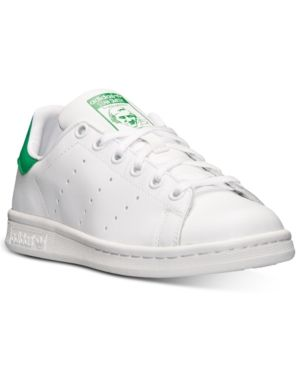 quality design 20e9b 59cee adidas Boys  Stan Smith Casual Sneakers from Finish Line - WHITE GREEN 5.5