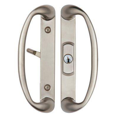 Rockwell Security Sonoma Sliding Door Handle Wayfair Sliding Door Handles Sliding Glass Door Door Handles