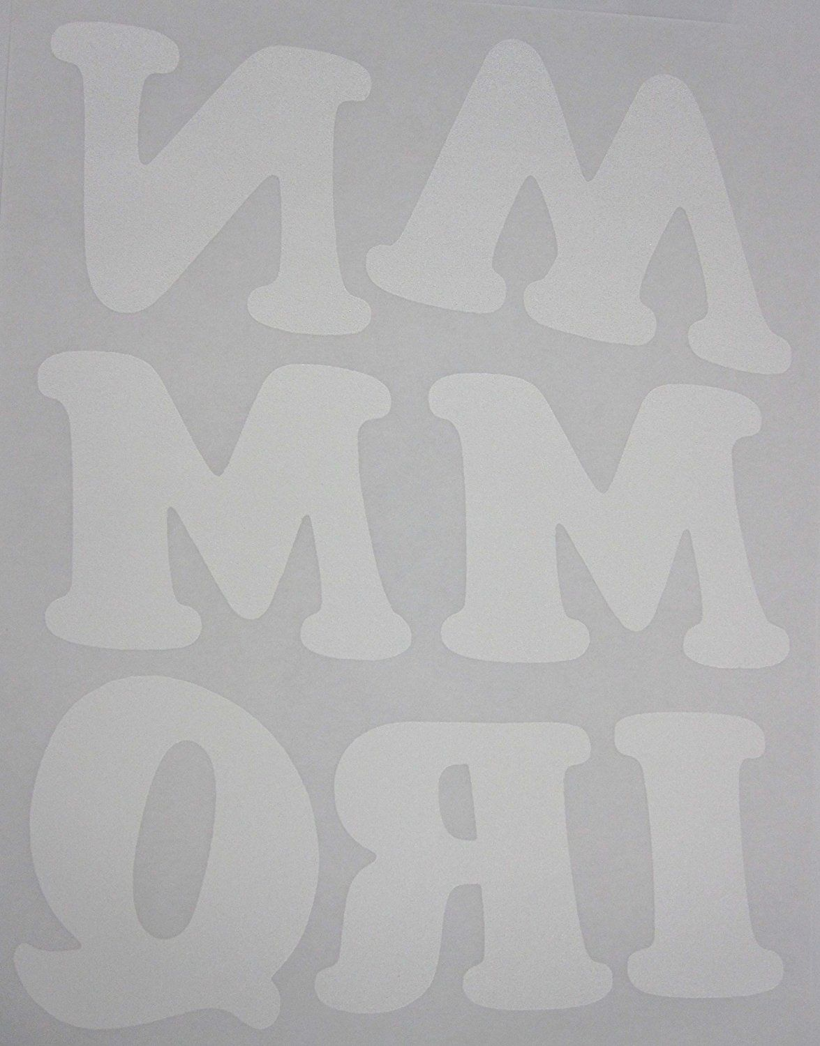 DIY 3-Inch Iron-On Letters in White ** Read more reviews of the item by visiting the link on the image.