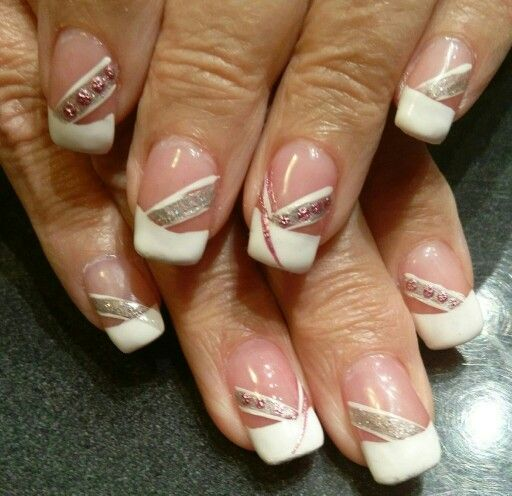 Gel Nails With French Manicure Nail Art Pinterest Manicure