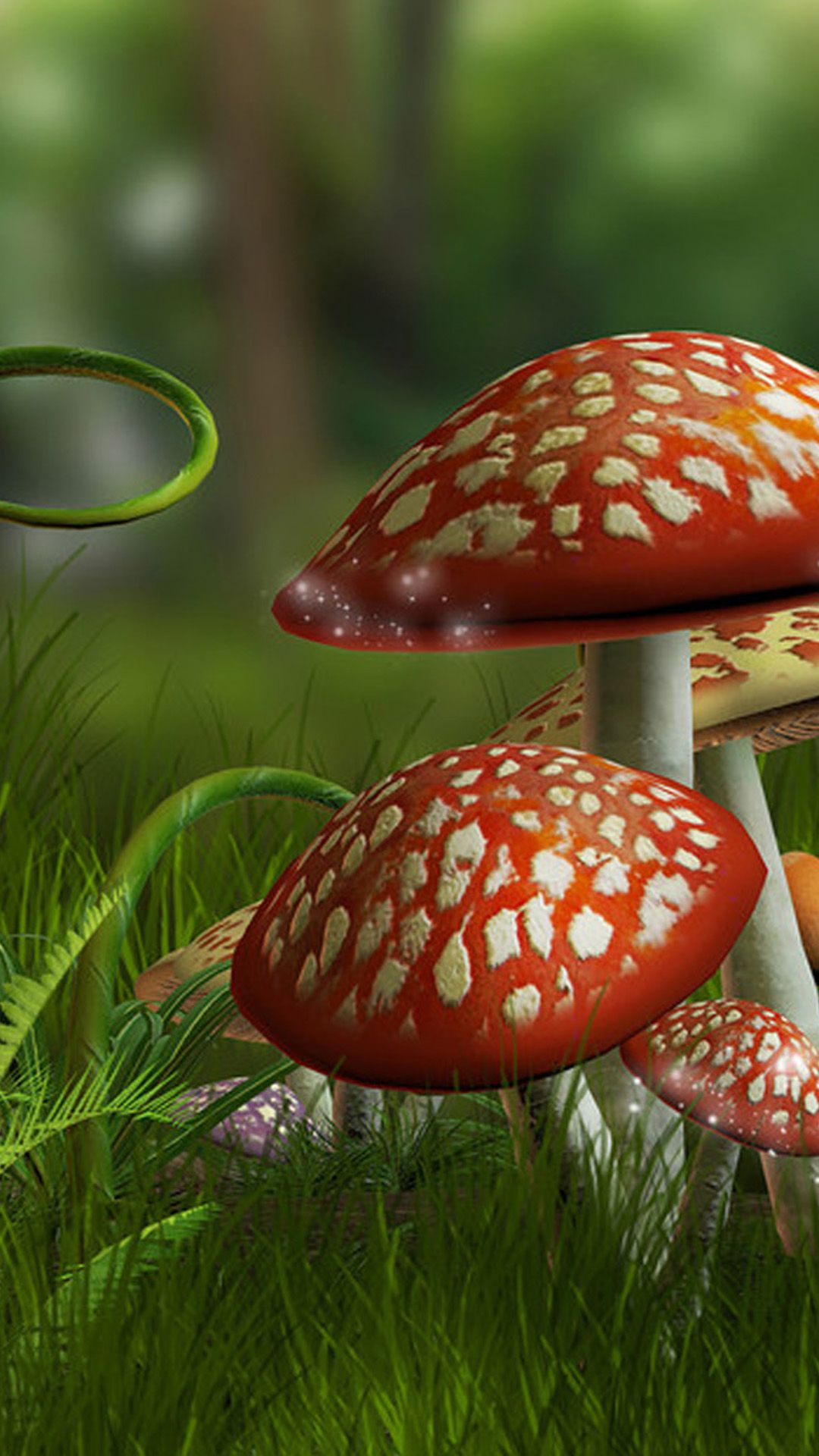 mushroom wallpaper phone - photo #4