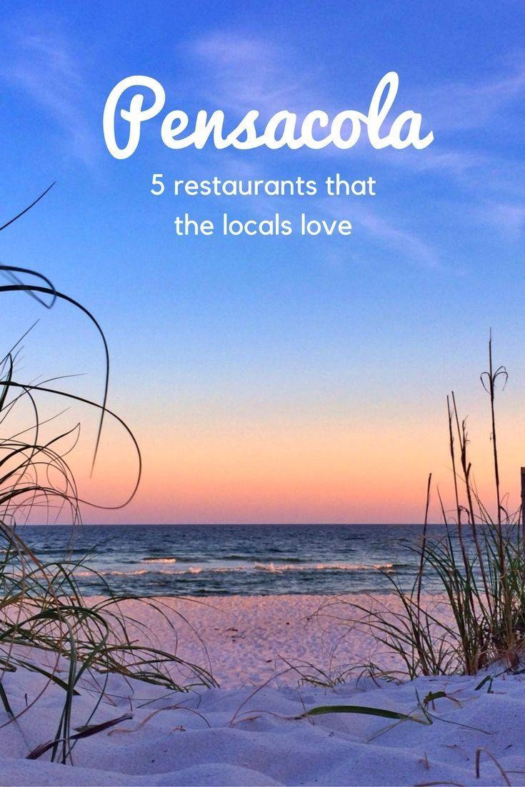 Pensacola Florida Best Places To Eat Florida Travel Pensacola Beach Pensacola