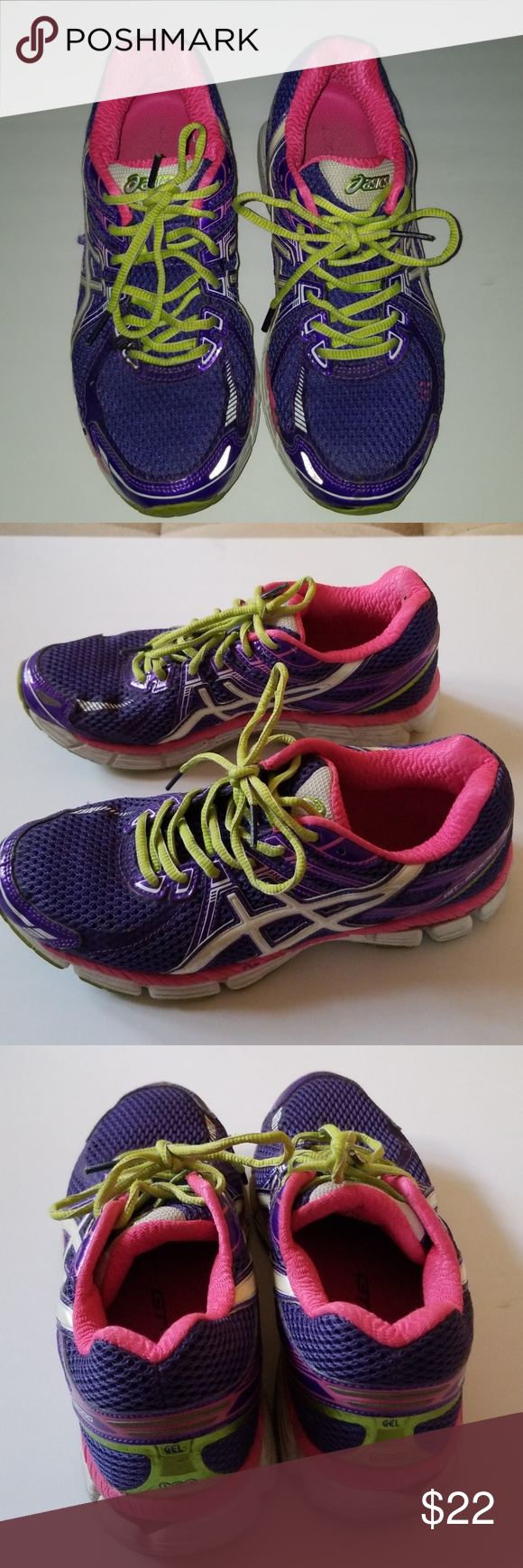 pink Asics Shoes Sneakers | Asics gel