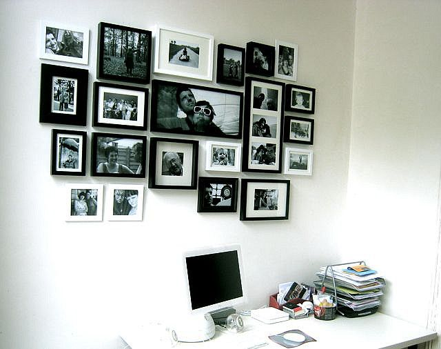 fotomuur Photo wall, Living rooms and Walls