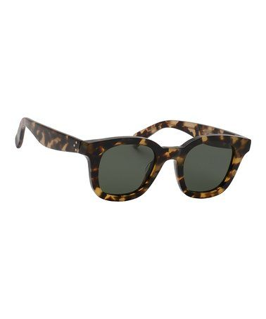 f4664be4f70 Look what I found on  zulily! Havana Honey Square Sunglasses - Women   zulilyfinds