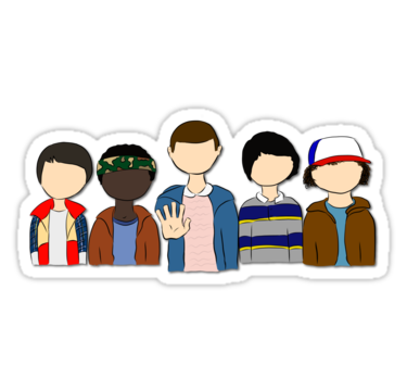 Pin By Amy Mitchell On Cake In 2021 Stranger Things Sticker Stranger Things Decal Stranger Things Art
