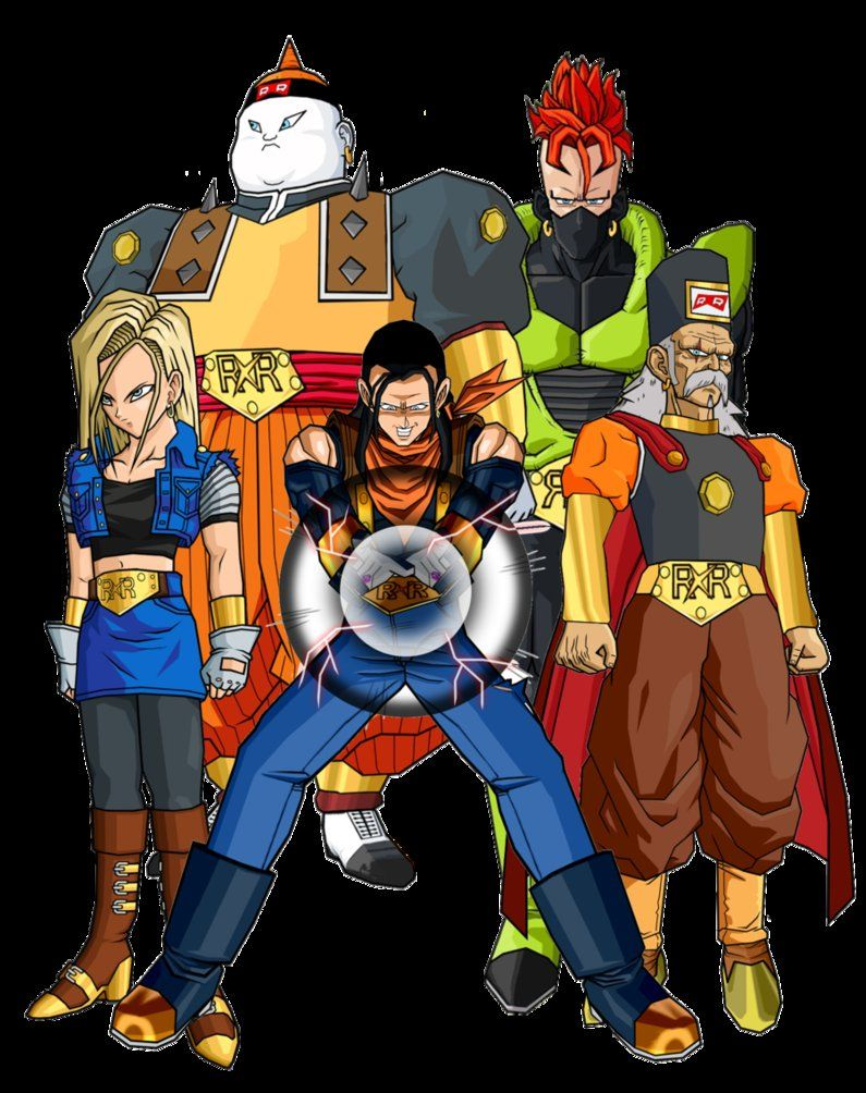 Super Androids Super Android Anime Play Dragon Ball Z