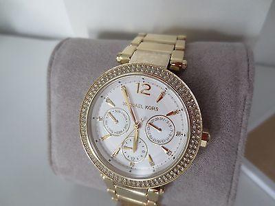 Michael Kors MK Damen Armband Uhr MK5780 Edelstahl Farbe
