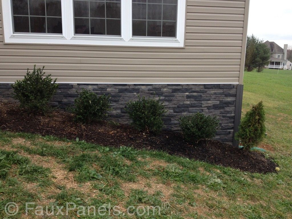 Foundation Covering Curb Appeal Made Easy Exterior Stone Landscaping Around House Exterior Brick