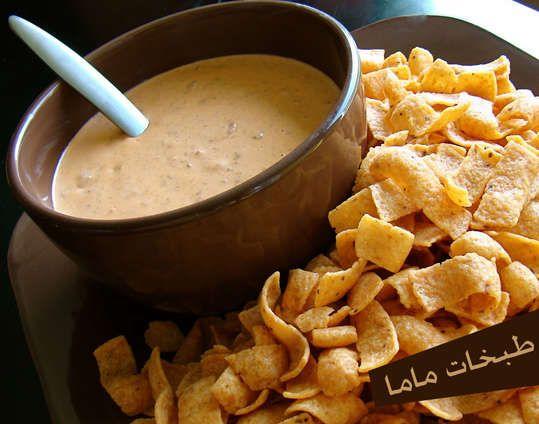 طريقة التشيلي شيز صوص Tab5atmama Chili Cheese Dips Appetizer Snacks Recipes