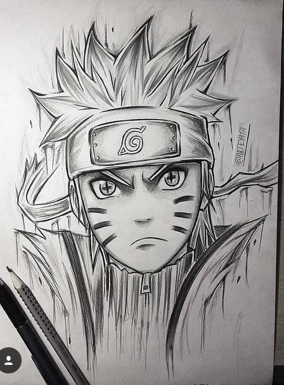 how to draw naruto characters pdf