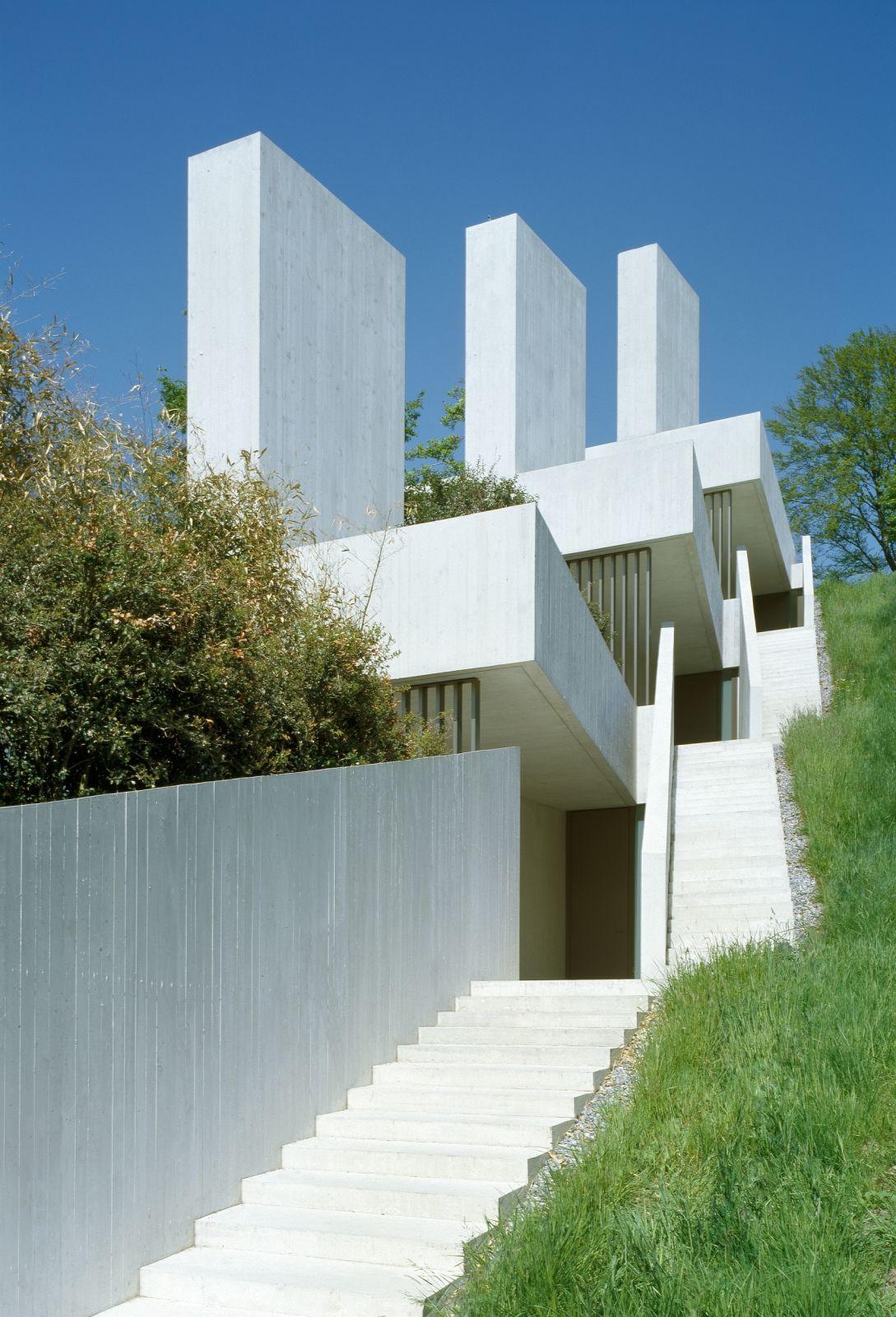 Drei Terrassenhäuser in Luzern by Daniele Marques. | Villas ...