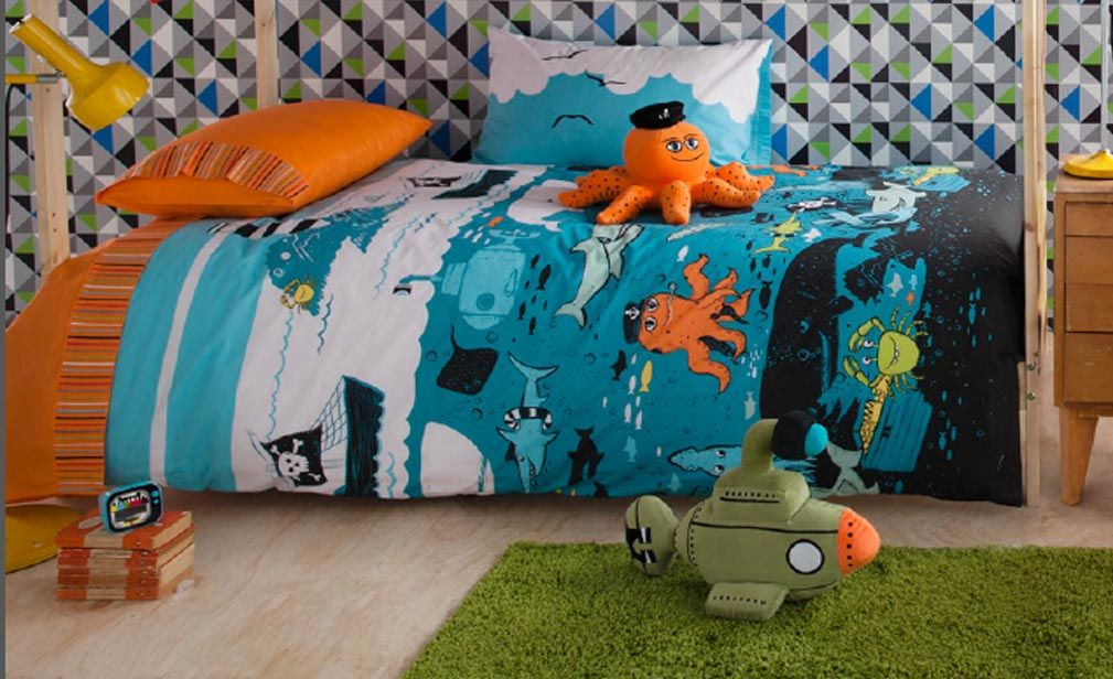 Most parents furnish their child's bedroom with a single sized bed ... : kas kids quilt covers - Adamdwight.com
