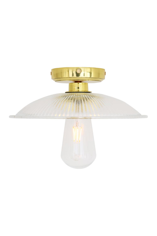 Gal Ceiling Light Ip65 In 2020 Ceiling Lights Brass Lamp Glass Lighting