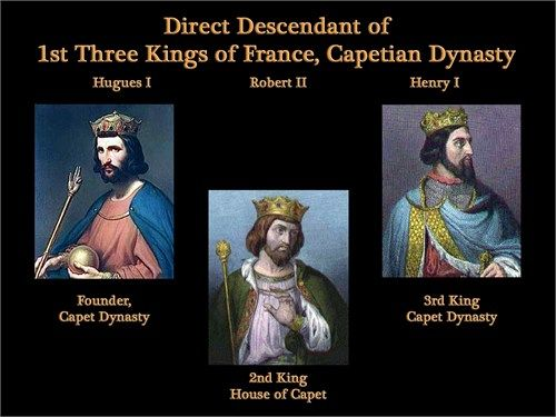 capetian kings of france Capetian dynasty's wiki: the capetian dynasty (/kəˈpiːʃən/), also known as the house of france, is a dynasty of frankish origin, founded by hugh capet it is among the largest and oldest royal houses in europe and the world, and consists of hugh capet's male-line descendants.