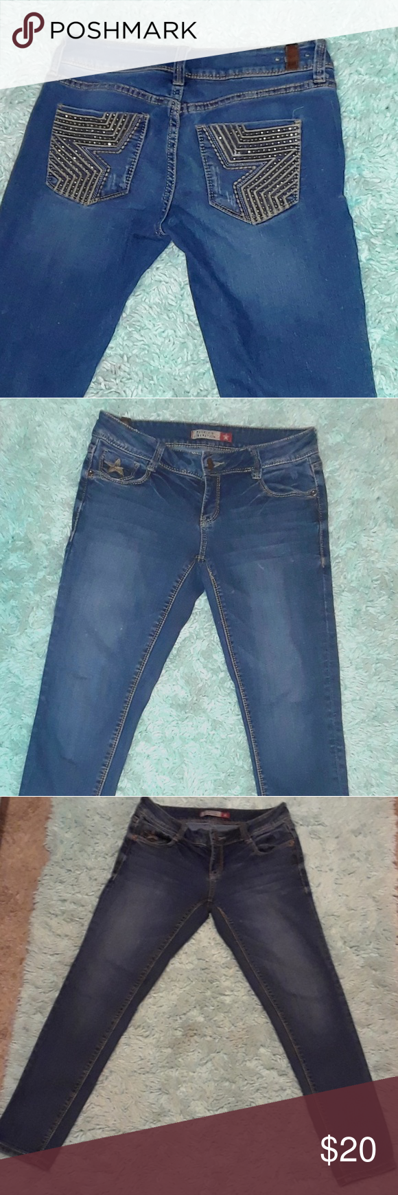 7f6659e6bc9fce ... Jeans Pair of blue Capri People's Liberation jeans just in time for  spring! Size 3/4 but fits like a size 5/6. People's Liberation Jeans Ankle  & Cropped