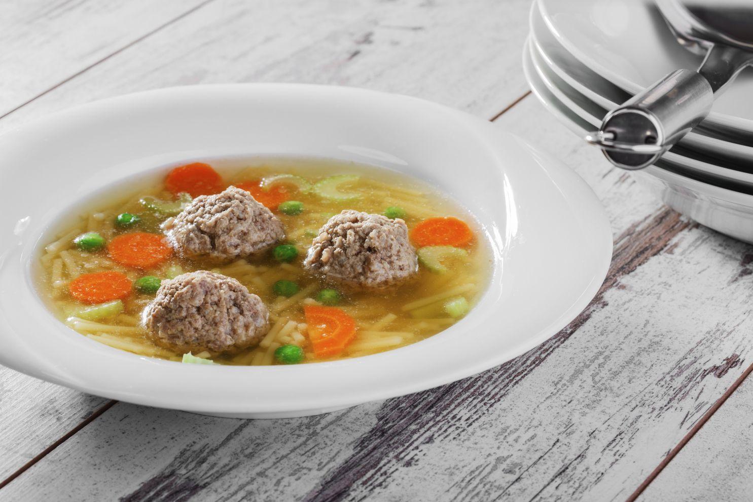 Receta de sopa de albóndigas - IMujer