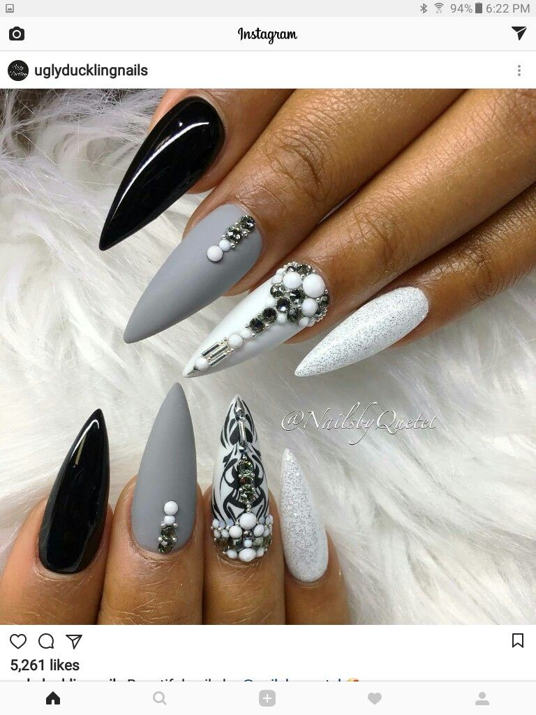 Pin by claudia gonzalez on nails pinterest manicure nail nail