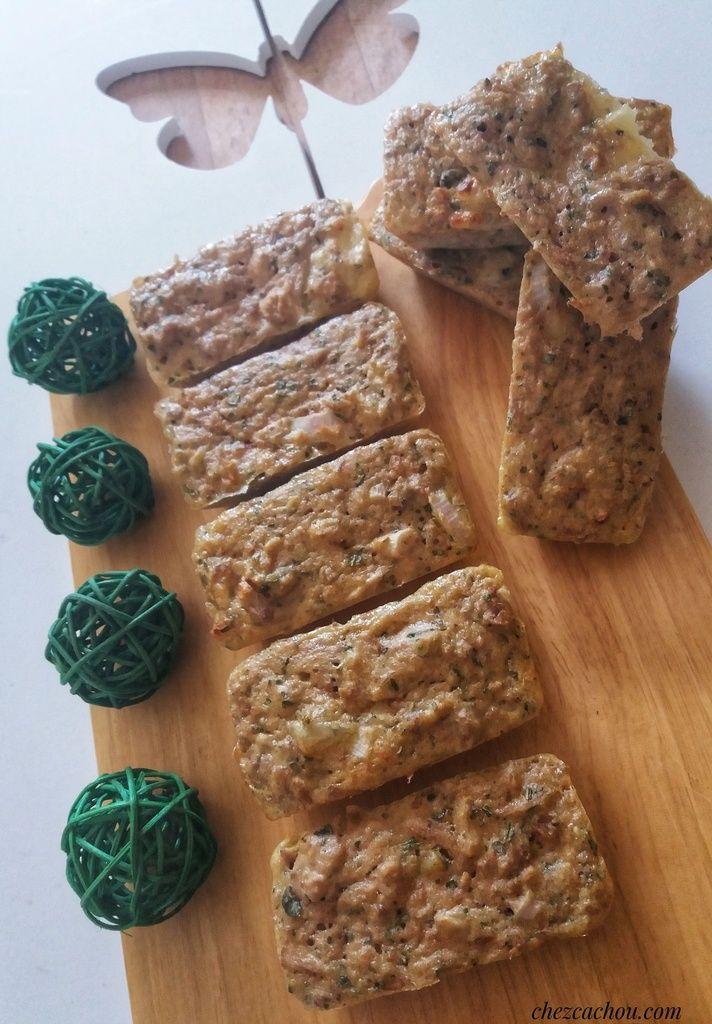 Petits cakes au thon et au basilic (recette avec ou sans Companion ou Thermomix