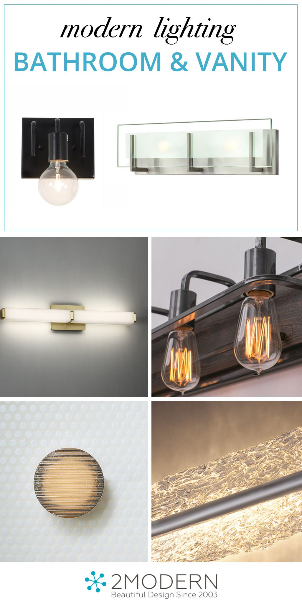 browse the best modern bathroom lighting and vanity lighting
